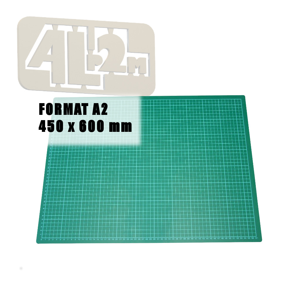 tapis de decoupe cutting mat a2 format 450 x 600 mm neuf
